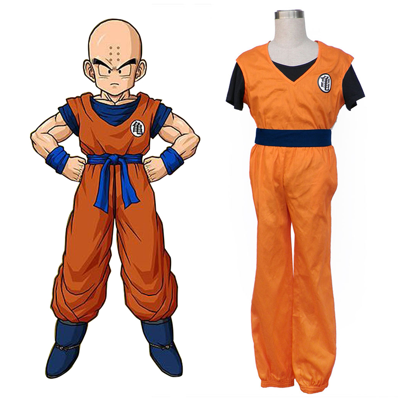 Dragon Ball Krillin Cosplay Costumes South Africa