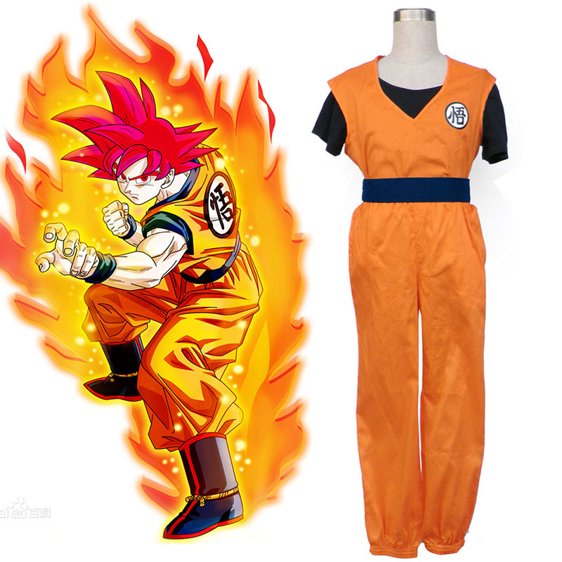 Dragon Ball Son Goku 2 Cosplay Costumes South Africa