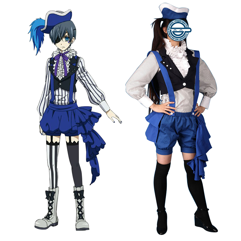 Black Butler Ciel Phantomhive 2 Cosplay Costumes South Africa