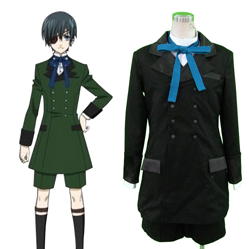 Black Butler Ciel Phantomhive 4 Cosplay Costumes South Africa