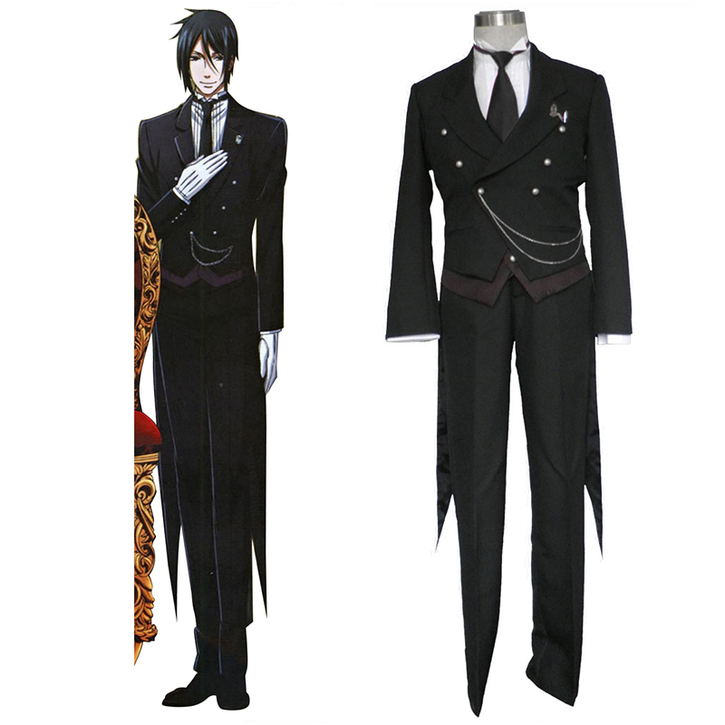Black Butler Sebastian Michaelis 1 Cosplay Costumes South Africa