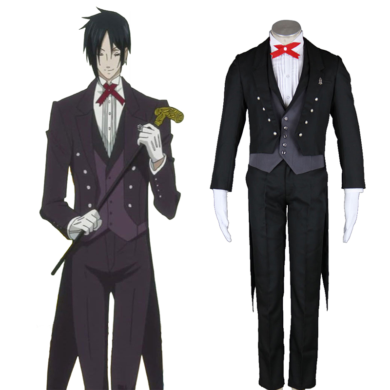 Black Butler Sebastian Michaelis 2 Cosplay Costumes South Africa