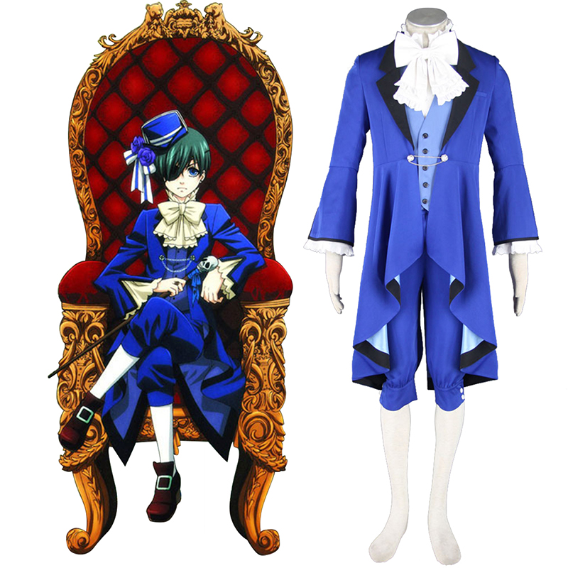 Black Butler Ciel Phantomhive 18 Cosplay Costumes South Africa