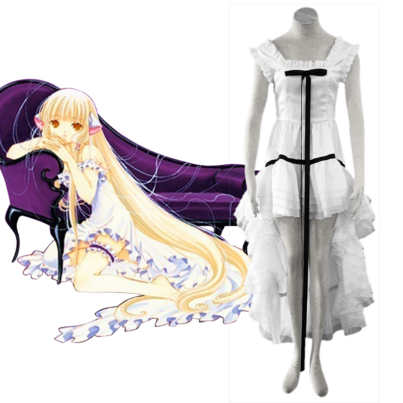 Chobits Eruda 2 White Cosplay Costumes South Africa