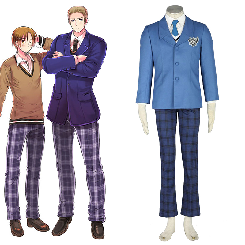 Axis Powers Hetalia Winter Male School Uniform 1 Cosplay Costumes South Africa