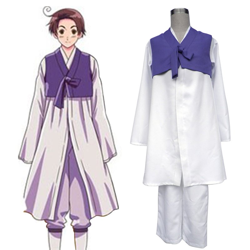 Axis Powers Hetalia South Korea 1 Cosplay Costumes South Africa
