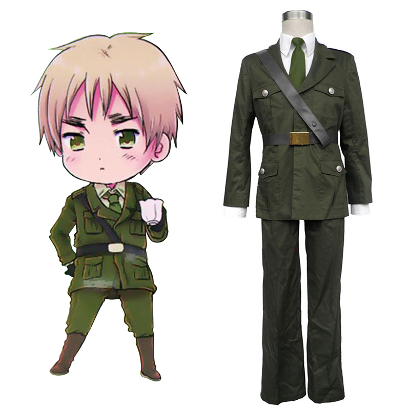 Axis Powers Hetalia Arthur Kirkland Britain 1 Cosplay Costumes South Africa