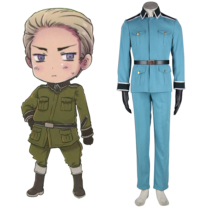 Axis Powers Hetalia Germany 1 Military Uniform Cosplay Costumes South Africa