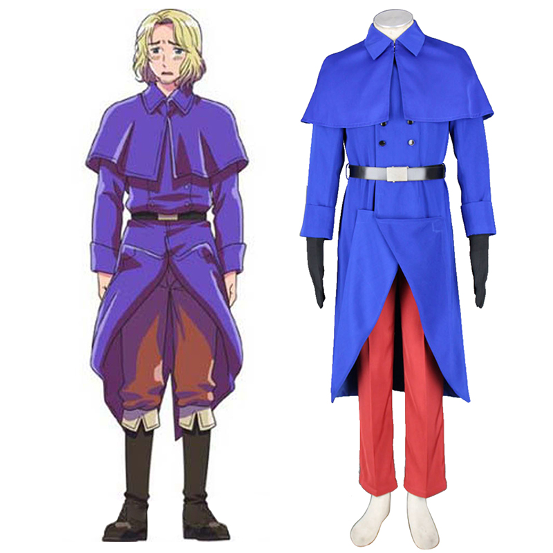 Axis Powers Hetalia France Francis Bonnefeuille 1 Cosplay Costumes South Africa