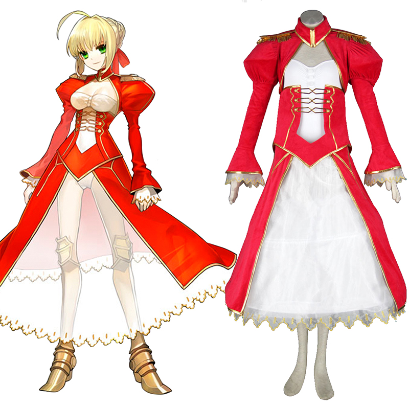 The Holy Grail War Saber 2 Red Cosplay Costumes South Africa