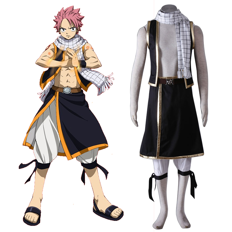 Fairy Tail Natsu Dragneel 1 Cosplay Costumes South Africa