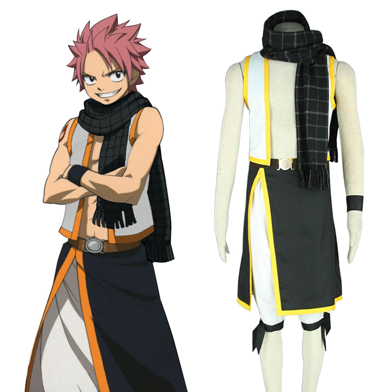Fairy Tail Natsu Dragneel 2 Cosplay Costumes South Africa