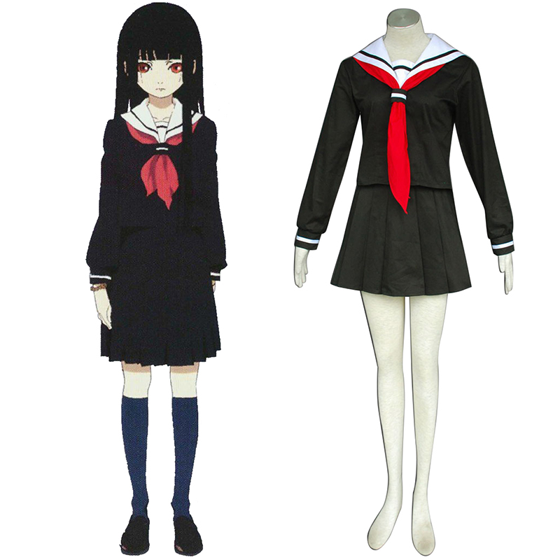 Hell Girl Enma Ai 2 Sailor Cosplay Costumes South Africa