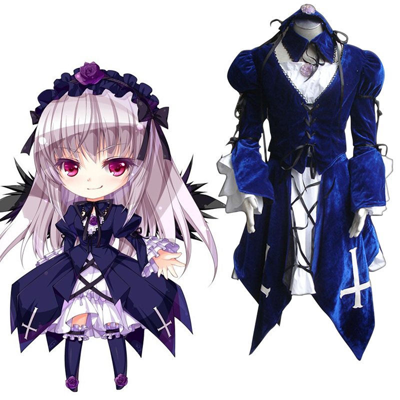 Rozen Maiden Suigintou 1 Cosplay Costumes South Africa