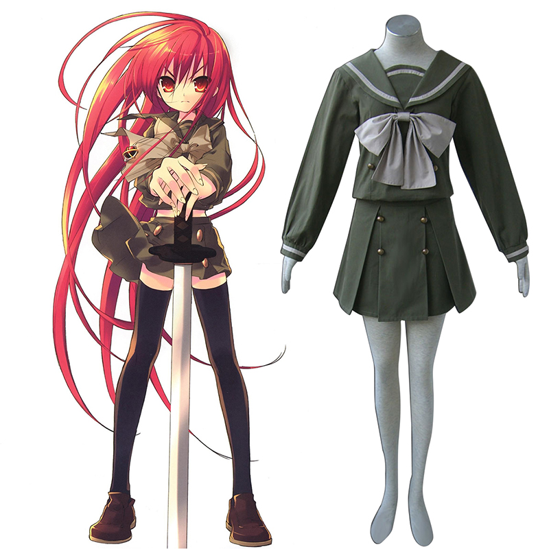 Shakugan no Shana Shana 2 Winter Sailor Cosplay Costumes South Africa