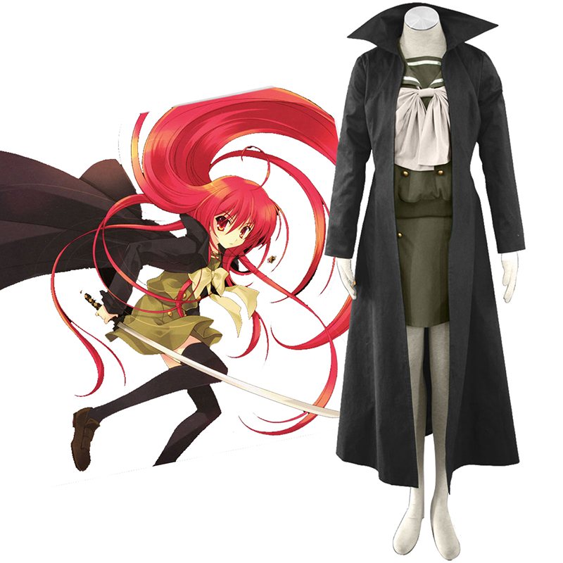 Shakugan no Shana Shana 3 Cloak Cosplay Costumes South Africa