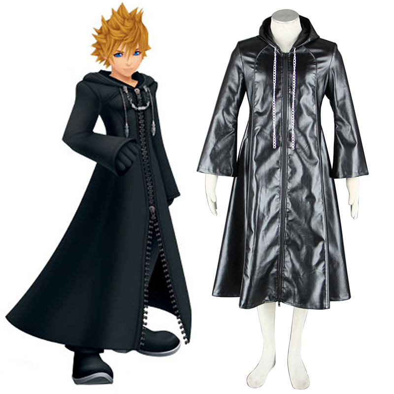 Kingdom Hearts Organization XIII 3 Roxas Cosplay Costumes South Africa