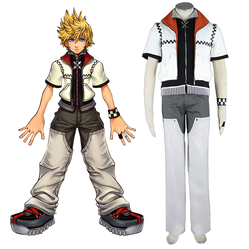 Kingdom Hearts Roxas 1 Cosplay Costumes South Africa