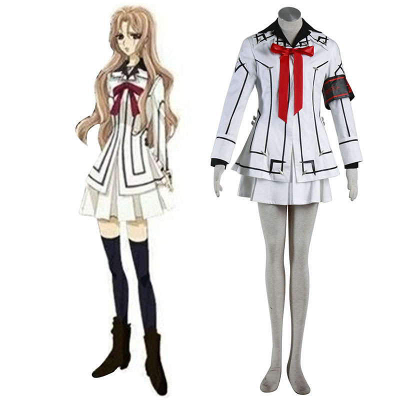 Vampire Knight Night Class White Female School Uniform Cosplay Costumes South Africa