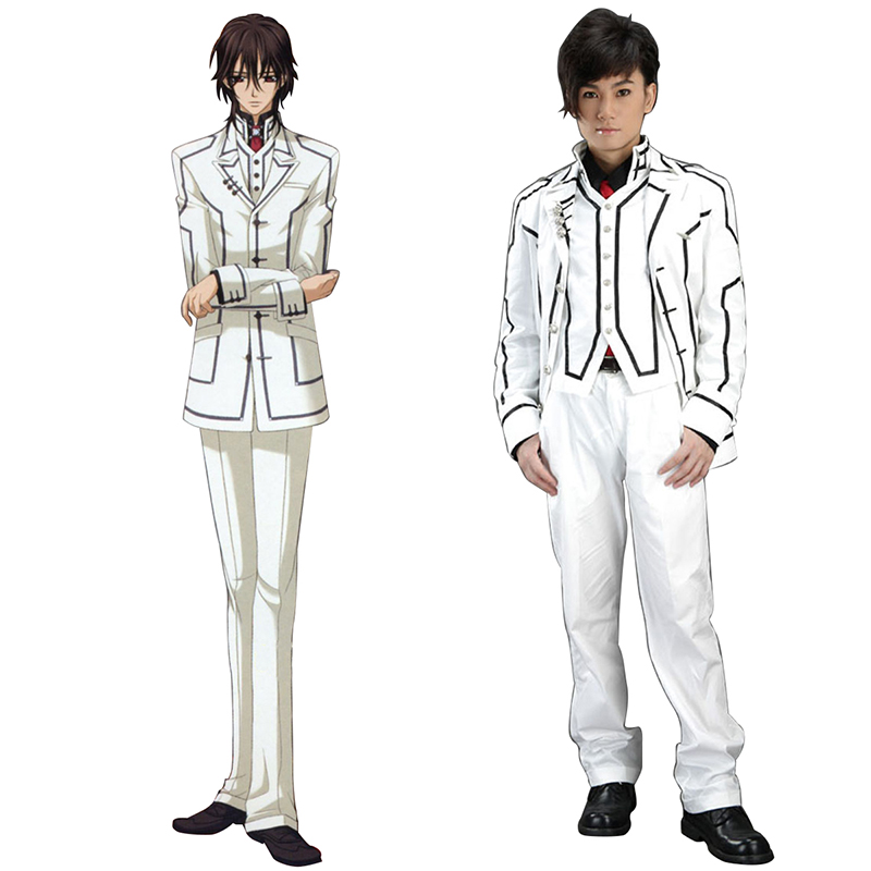Vampire Knight Night Class White Male School Uniform Cosplay Costumes South Africa