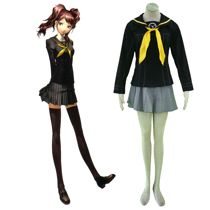 Shin Megami Tensei: Persona 4 Winter Female School Uniform Cosplay Costumes South Africa