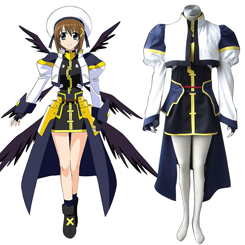 Magical Girl Lyrical Nanoha Hayate Yagami Cosplay Costumes South Africa