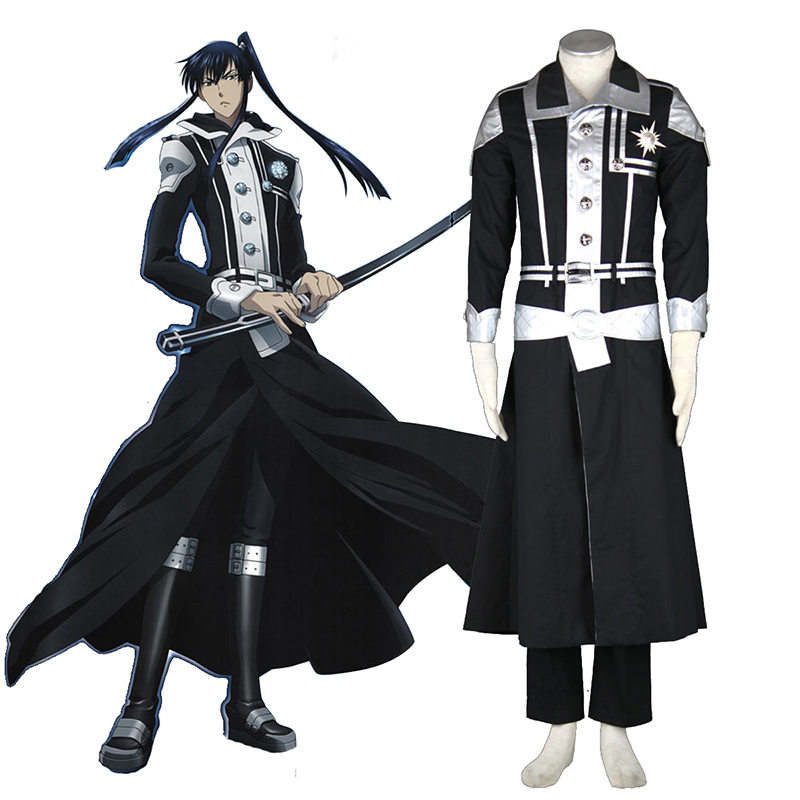 D.Gray-man Yu Kanda 1 Cosplay Costumes South Africa