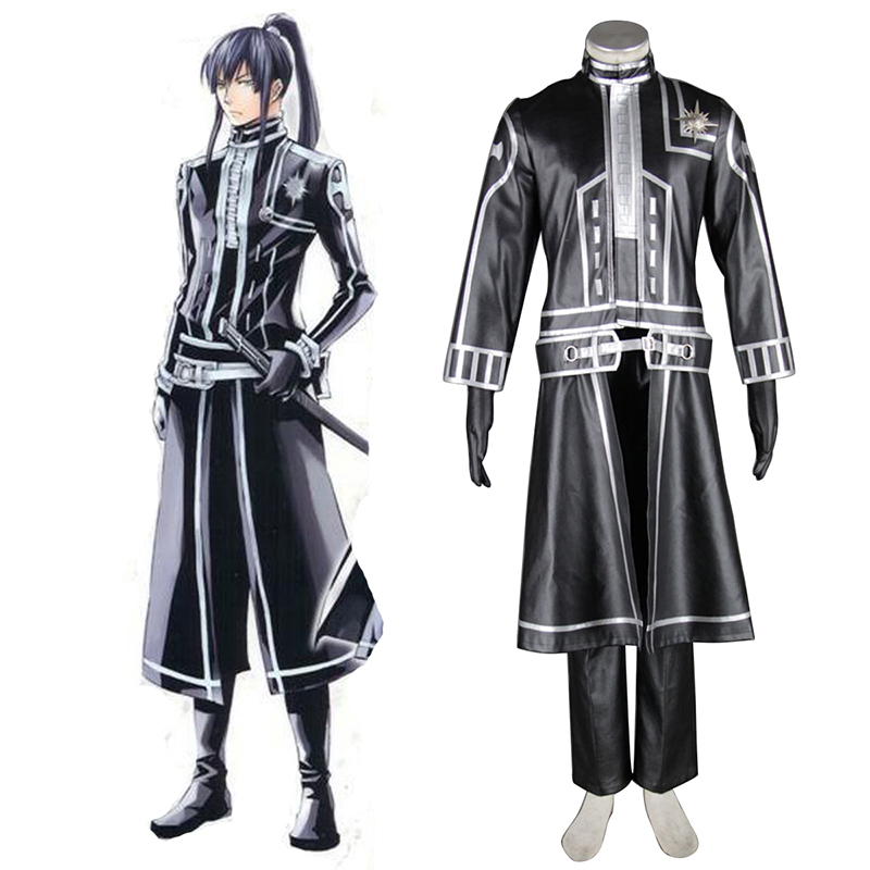 D.Gray-man Yu Kanda 2 Cosplay Costumes South Africa
