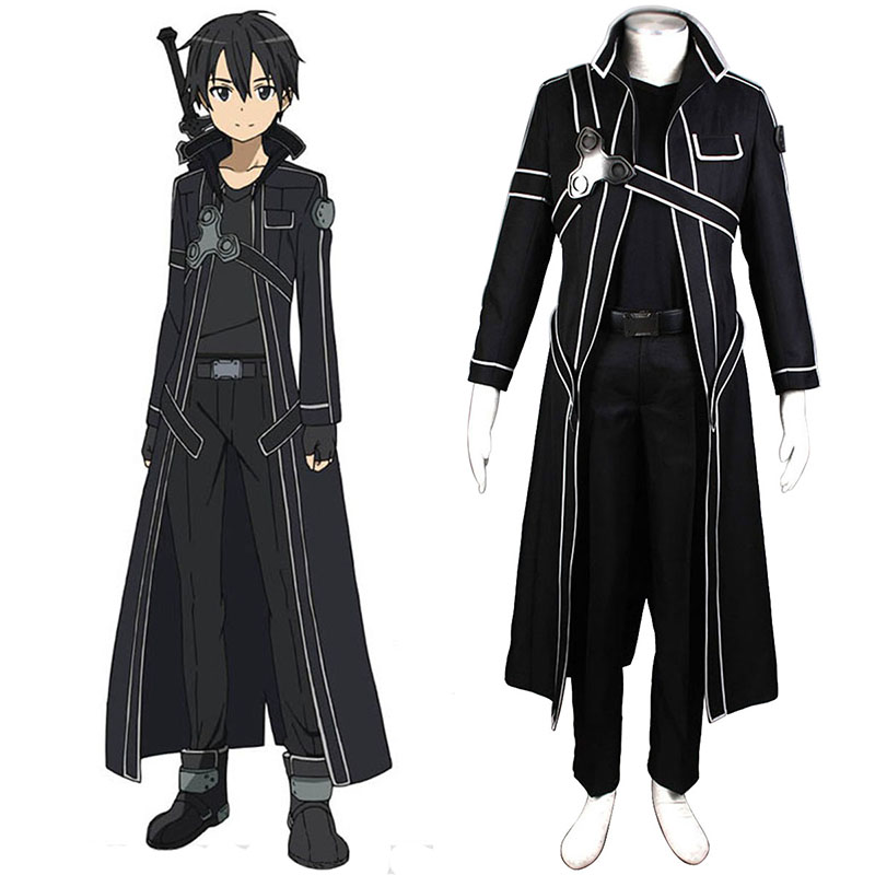 Sword Art Online Kirigaya Kazuto 1 Cosplay Costumes South Africa