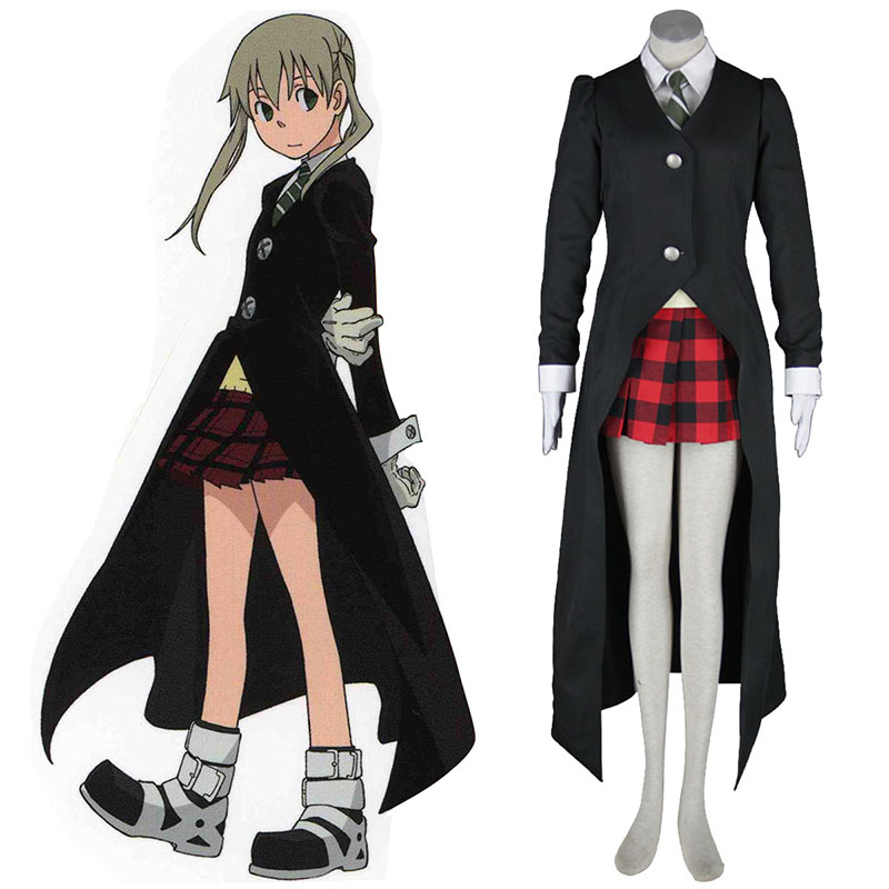 Soul Eater Maka Albarn 1 Black Cosplay Costumes South Africa