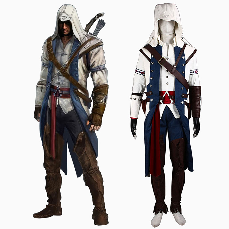 Assassin's Creed III Assassin 8 Cosplay Costumes South Africa