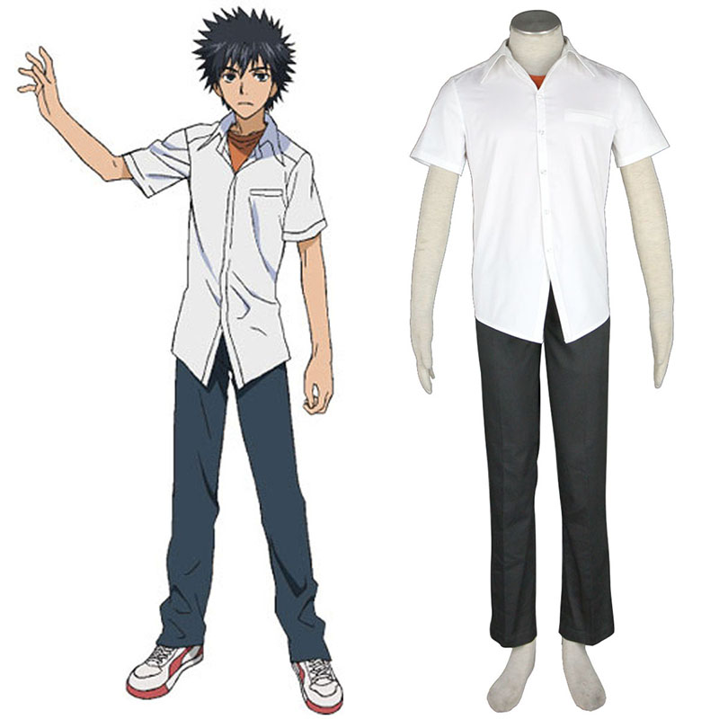 A Certain Magical Index Kamijou Touma 1 Cosplay Costumes South Africa