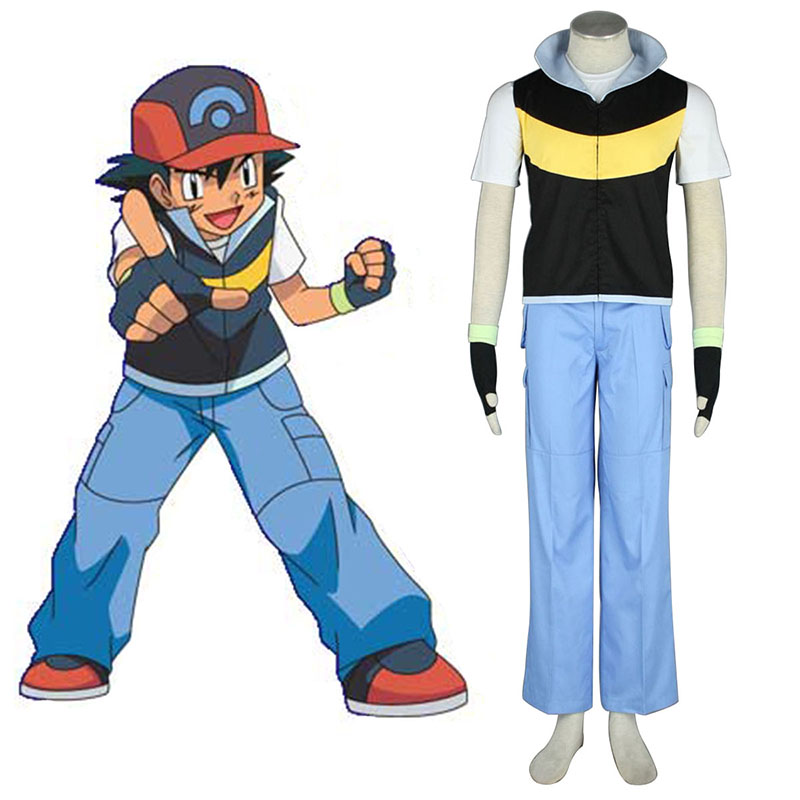 Pokémon Ash Ketchum 1 Cosplay Costumes South Africa
