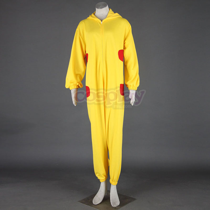 Pokémon Pikachu Pajamas 1 Cosplay Costumes South Africa
