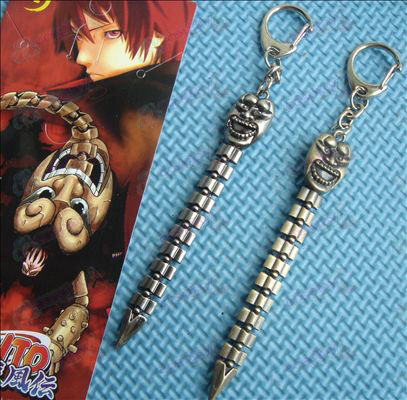 Naruto Xiao Organization red sand of the scorpion sword buckle