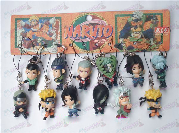 12 Naruto Doll Machine Rope (12 / set)