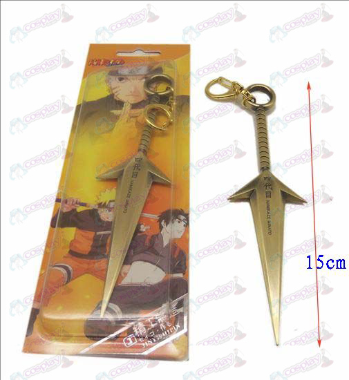 D Naruto four generations present knife buckle (Bronze)