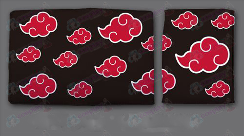 Naruto Red Cloud fold wallet QB3151 (short)