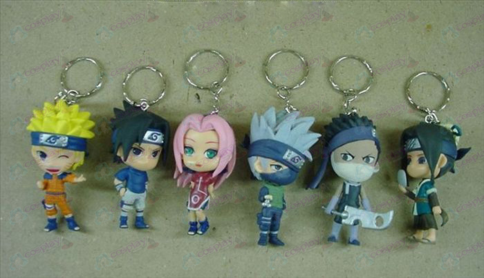 18 generations 6 big Ninja keychain