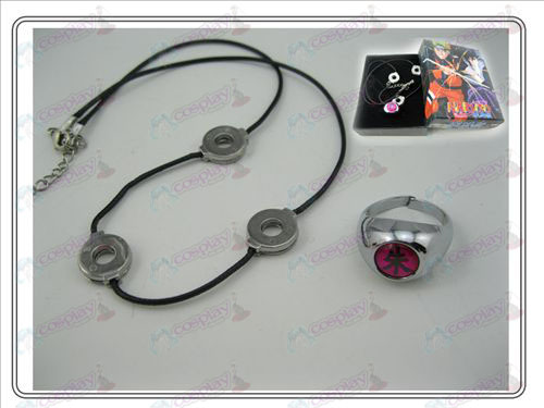 Uchiha Itachi necklace + ring (piece)