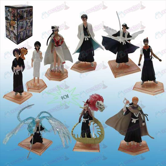 Genuine three generations 9 Bleach Accessories backplane Doll