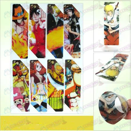 SQ012-One Piece Accessories anime big Bookmarks (5 version of the price)