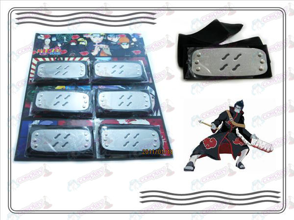 Organizations Naruto dawn fog endure six mounted black headband