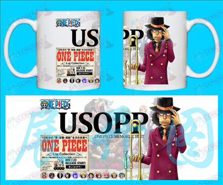 H-One Piece Accessories Mugs USOPP