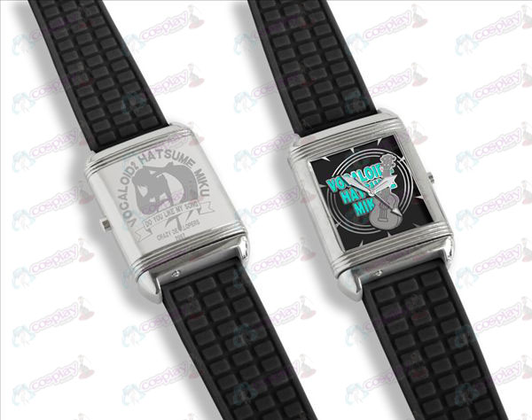 Dual literally flip watches (Hatsune)
