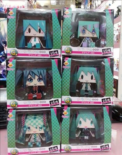 6 box Hatsune hand to do