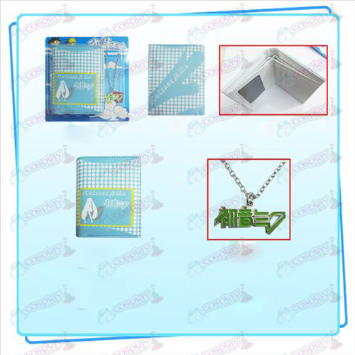 Hatsune combo necklace purse