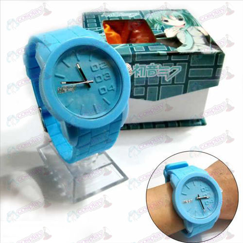 Hatsune tape waterproof watches
