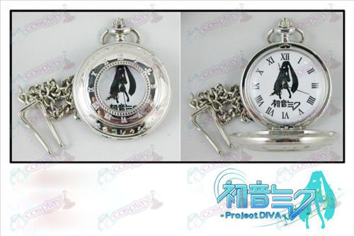 Scale hollow pocket watch-Hatsune Miku Accessories