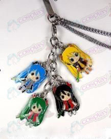Hatsune color 4 Pendant mobile phone chain